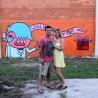 Fazendo diferente: pedido de casamento em grafite.