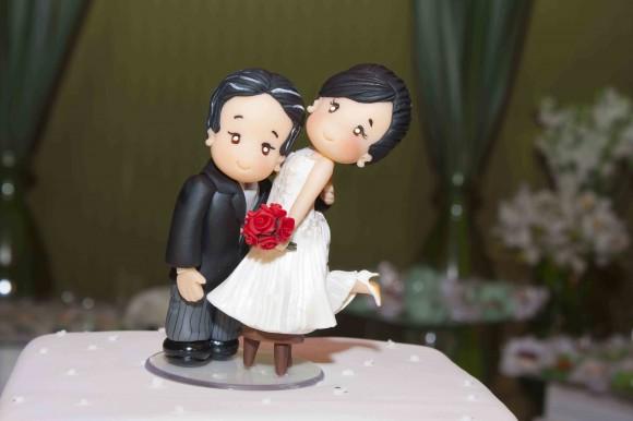 topo de bolo amor perfeito