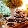 Brigadeiros gourmet: a moda chega aos casamentos