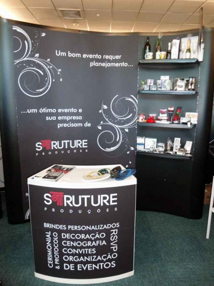 Stand Struture Producoes no road Show
