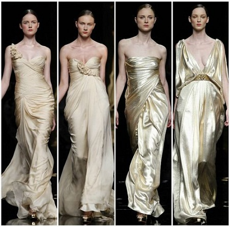 tendência em vestido de noivas 2012