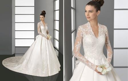 vestidos de noivas tendências 2012