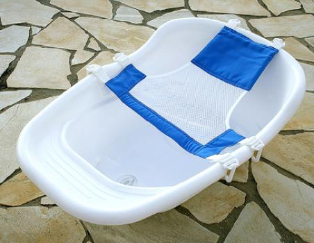 Banho seguro para bebês