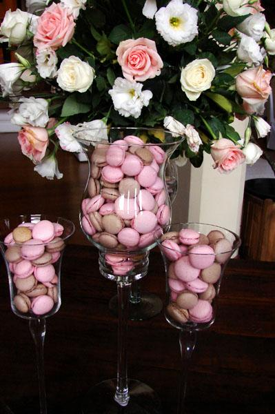 Macarons para casamentos