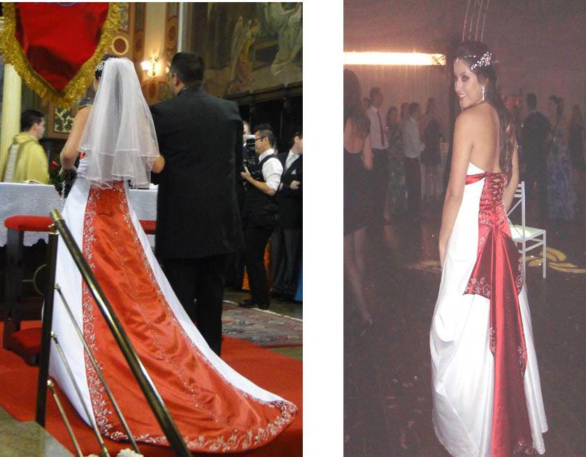 vestidos de casamentos coloridos