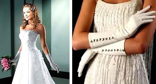 luvas de casamentos