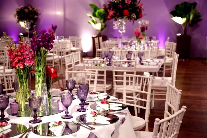 decoração casamento Clube Caiçaras