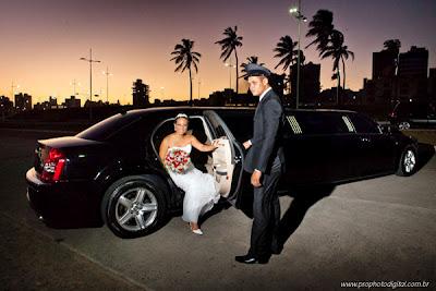 Noiva de limosine