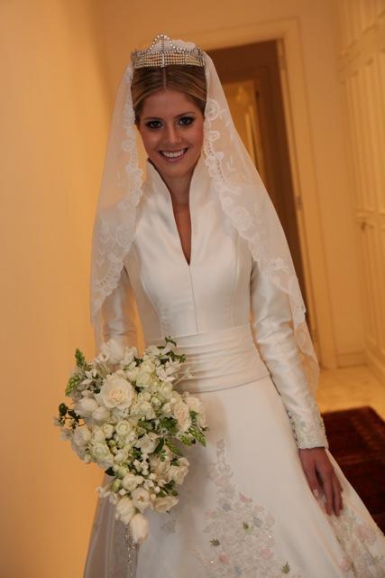 vestido renda casamento