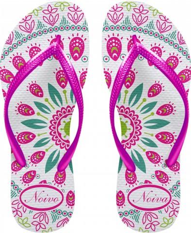 d708bf215e Promoção de carnaval  sandálias personalizadas coloridas - Struture ...