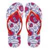 Promoção de carnaval: sandálias personalizadas coloridas