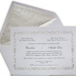 convite casamento bico floral