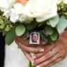 Homenagem no seu buquê de casamento